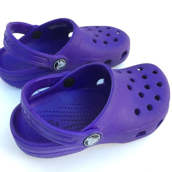 Classic Clog Purple Amethyst Kids Size